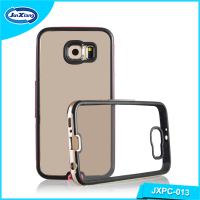 Wholesale clear hard pc mobile phone case for samsung galaxy S6