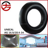 wholesale natural rubber inner tubes 16.9/18.4-34 with low price and top quality
