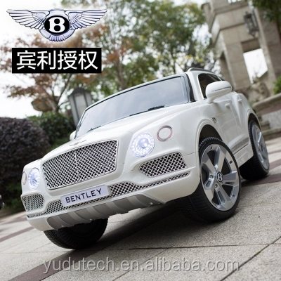 New Lisenced Bentley 12V Kids Ride On Battery Powered Wheels Car with RC Remote ride on car