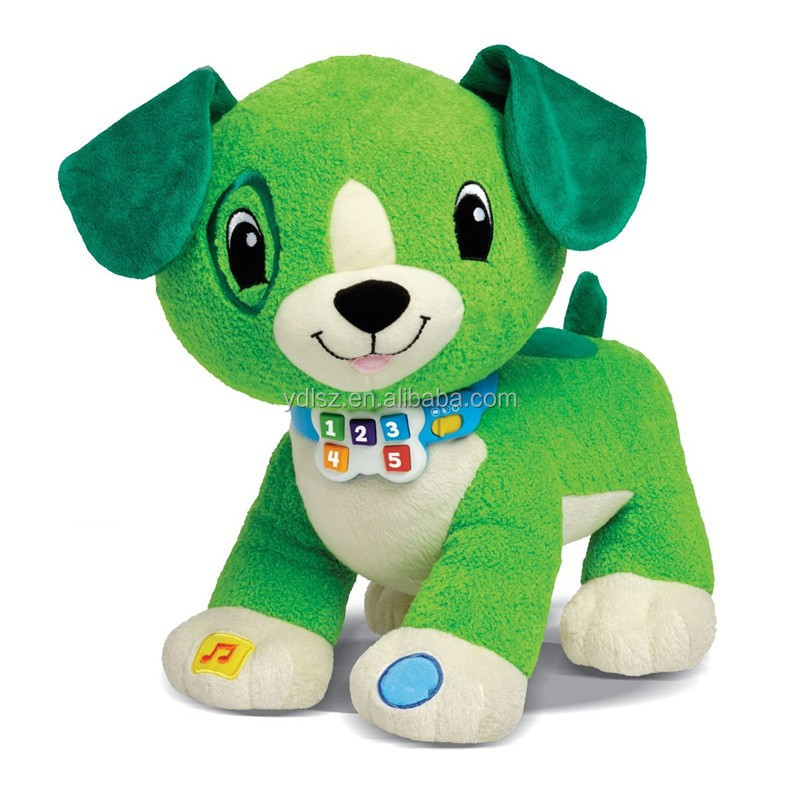 2015 hottest Interactive intelligence Electronic plush singing toys