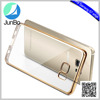 In Stock 360 Degree Full Body Electroplating Front Back Clear TPU Case mobile phone Cover For Samsung Galaxy S7 Edge