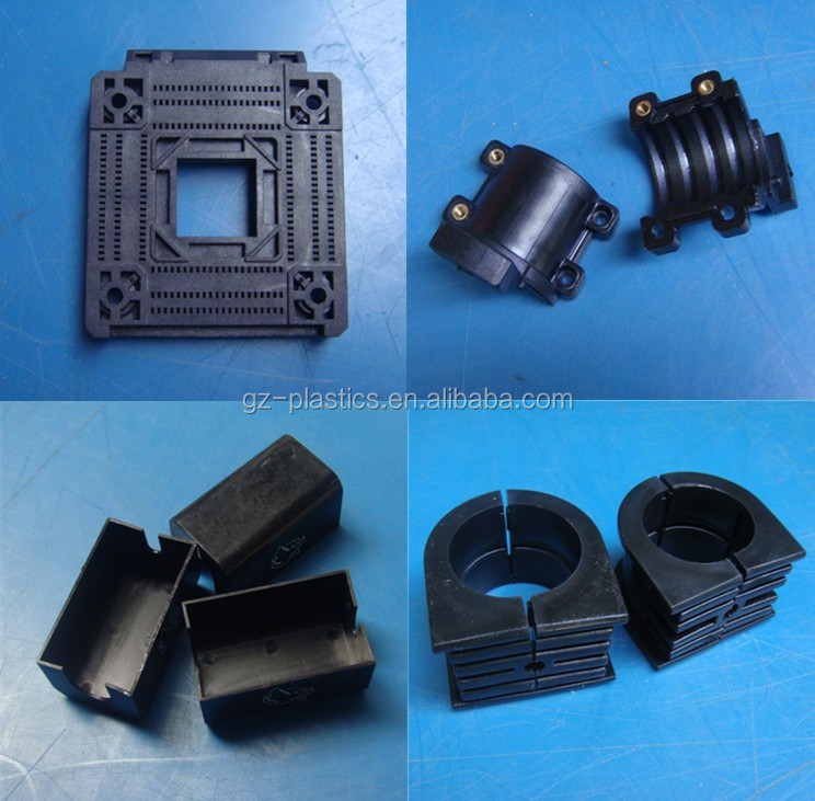 Polyamide ertalon nylon spare parts plastic injection moulding PA screw nuts for engineering