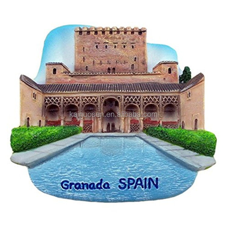 customized hand painted Granada Spain Souvenir