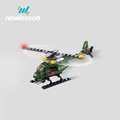mini helicopter building blocks educational toys iq games for kids