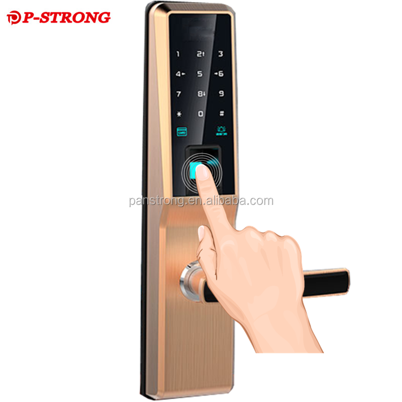 Intelligent Smart Home Fingerprint Keyless Digital Electric Door Lock
