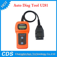 2015Newest profession scanner Auto Code Reader car diagnostic tool U281 For VW Audi
