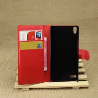 Low price Cheapest for huawei ascend p6 leather phone case