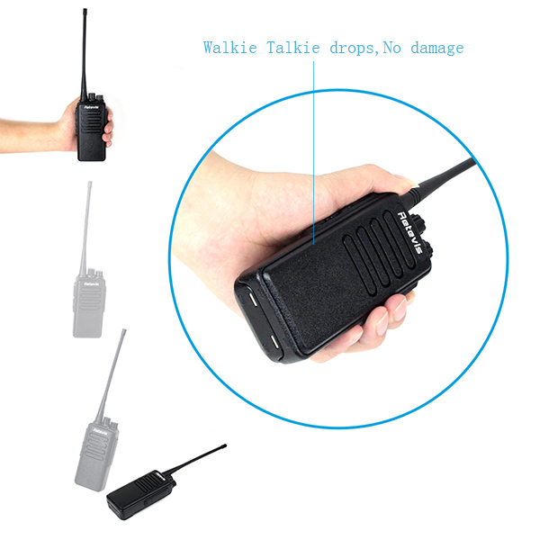 The genuine 10W 3600mAh RT1 Scrambler Retevis UHF two-way radio