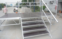 Stair stage aluminum outdoor stage 18mm plywood waterproof stage platform