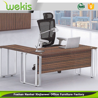 Low price modern office furniture custom made iron metal computer desk