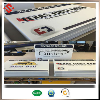 corona treatment UV printing PP sheet sign board walking billboard Polyproplene PP plastic sheet