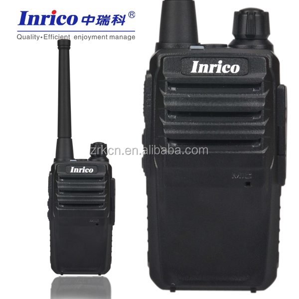 4 watts wide band receiver two way radio IP118