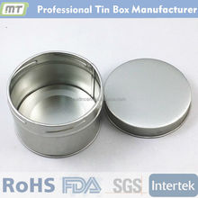 high quality round screw tin can