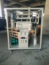 High Quality Vacuum Single-stage Insulating Oil Filtration Systems, Transformer Oil Filter Machine