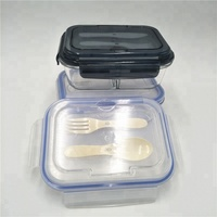 BPA Free Reusable Leak Proof Sealed borosilicate glass storage With Best Price and High Quality