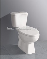 toilet sanitary ware siphonic 2 piece wc ceramic toilet
