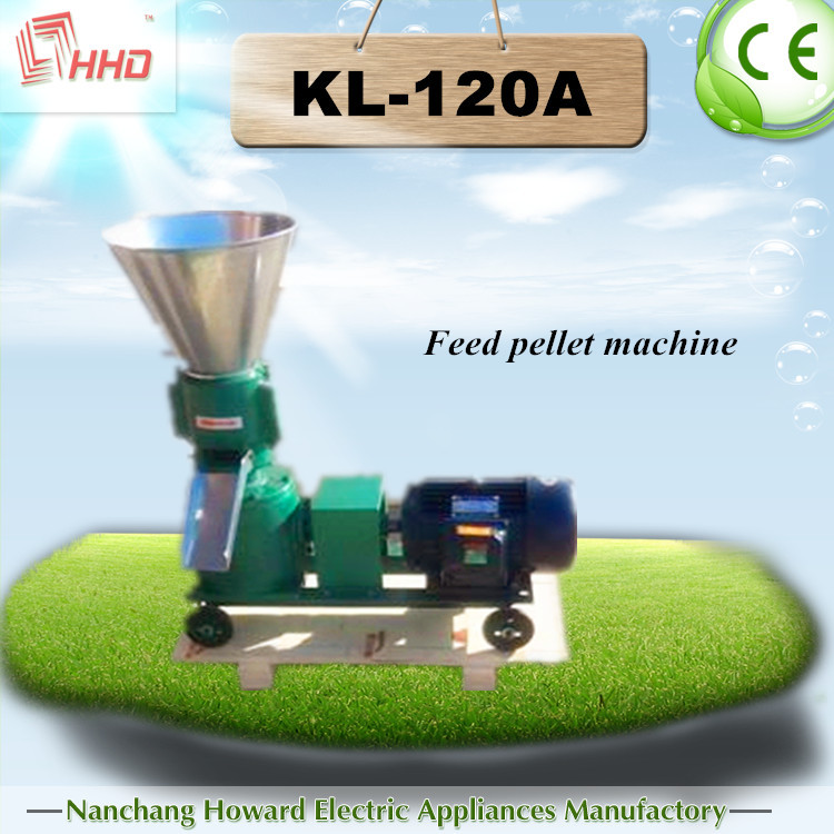 high quality pellet machine price /Feedmill,grease pump system KL-120A