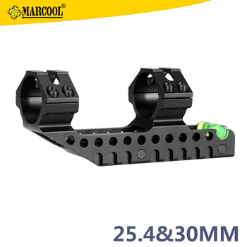 Marcool One Piece scope mount with Cantilever Picatinny 1inch/30mm tube riflescope ring mounts