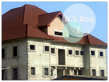 High Quality Galvanized Steel Sheet Stone Coated Metal Roof Tile Made in China