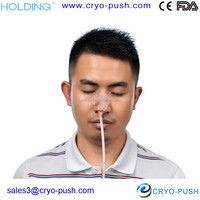 Disposable Nasogastric Tube / Catheter Double Holder(silk band) for Hospitals or Clinics