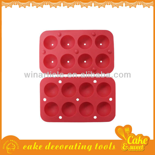 Food grade silicon moulds for cakes