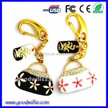 handbags, bag shap jewellery usb flash Drive.64gb/128gb usb flash drive