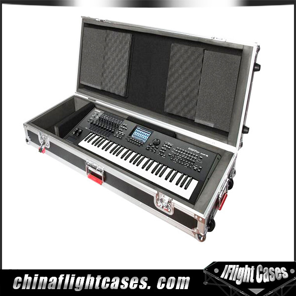 Wholesale flight case keyboard flight case for Yamaha Mox6 keyboard