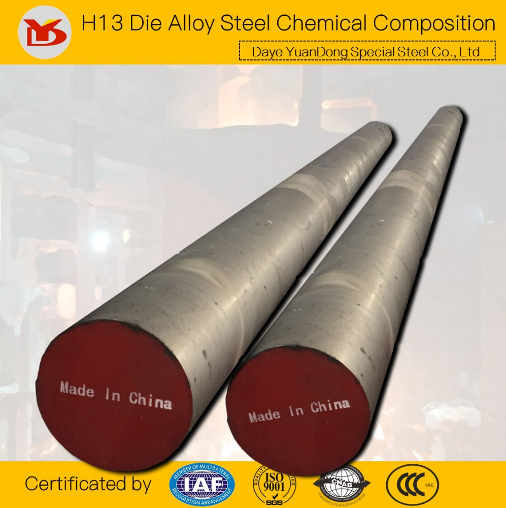 H13 Die Alloy Steel Chemical Composition