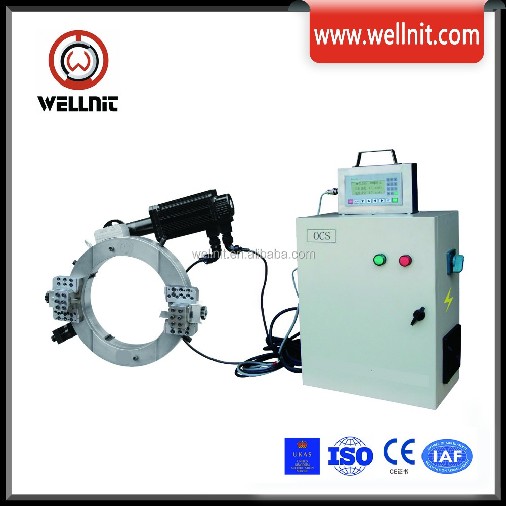 CNC Operated Pipe Cold Cutting and beveling Machine