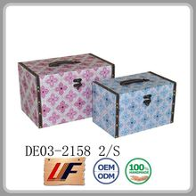 Storage Trunks Vintage Style Various Colors Customize Metal And Leather Trunk