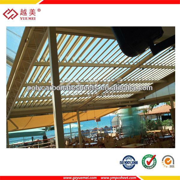 6mm l mina de pl stico para techos de policarbonato anti - Techos de plastico ...