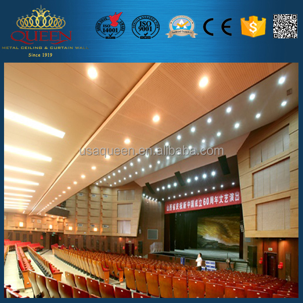 Youth's Palace Arts Center aluminum wide panel ceiling design decoration