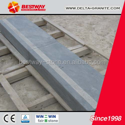 Exterior honed limestone steps,outdoor garden limestone steps with reasonable price