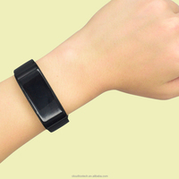 OLED display screen cheap big screen smart band with heart rate monitor
