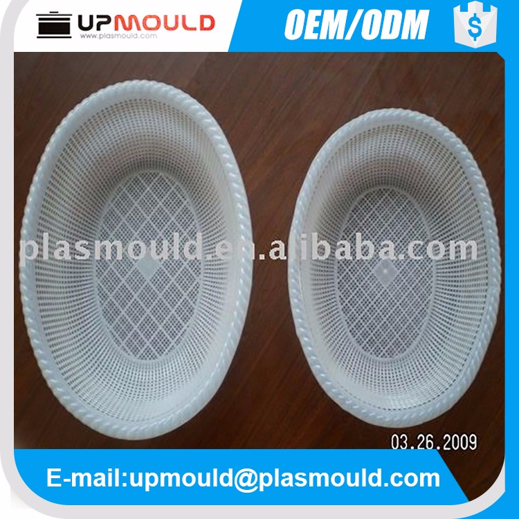 Cheap plastic injection mould/Moulding basket mold/molding