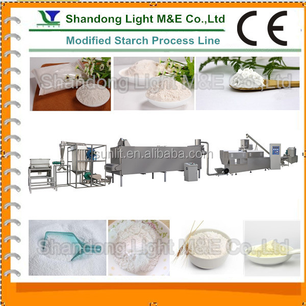 Hot Sale Industrial Potato Modified Starch Processing Machine