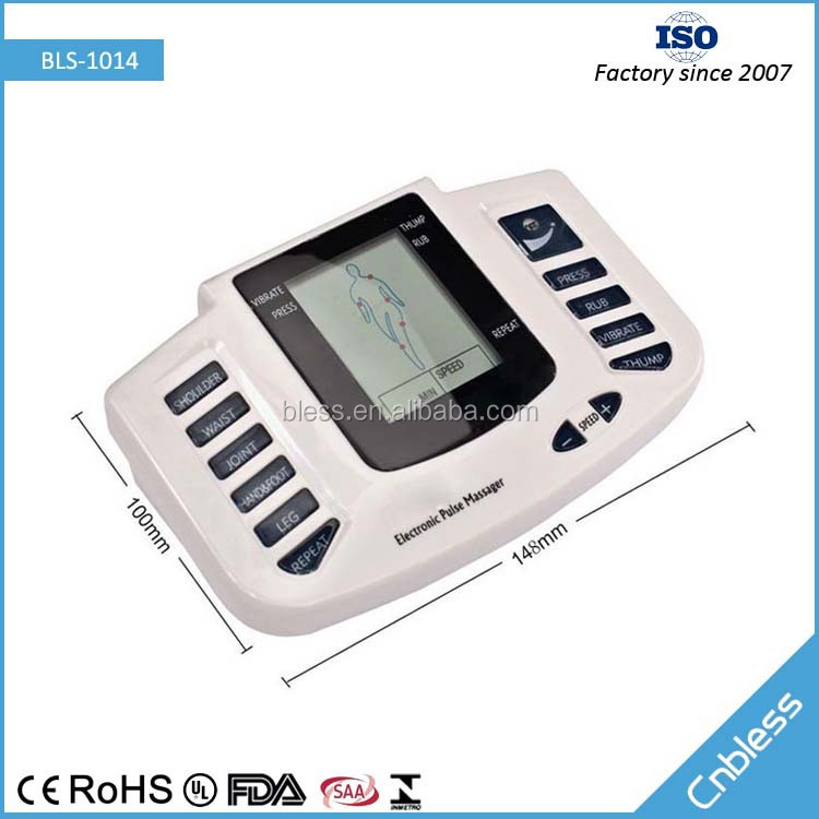 CE,ROHS Approved personal use electric therapy back massager for pain relief