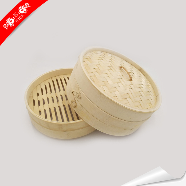 Golden supplier raw material dumpling steamer set with custom printed