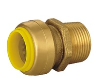 Push in Fitting Male Adapter