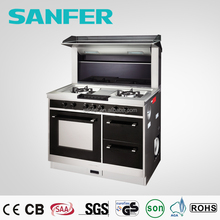 Integrated Stove 5 in 1 Free Standing Cooker Electric Oven