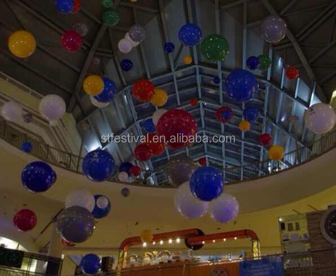 2015 colorful ball shopping mall summer decoration