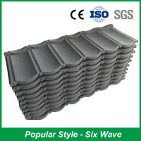 Long Lifespan Stone Coated Steel Roofing Tile, Metal Roofing Sheet