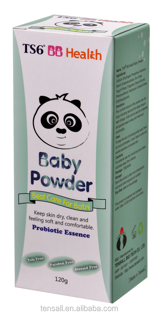 Diaper rash prevention Probiotic Essence Baby Powder with Houttuynia Cordata Extract