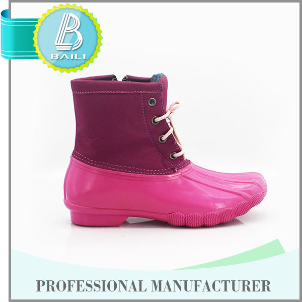 High quality Customised designs Colorful Rain military boots fashion shoes men
