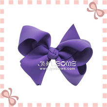 Purple Fashion Hair big alligator clips