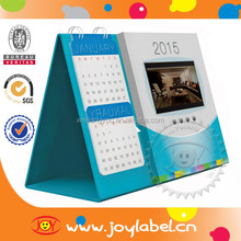 Best price customized factory supply triangle desk calendar