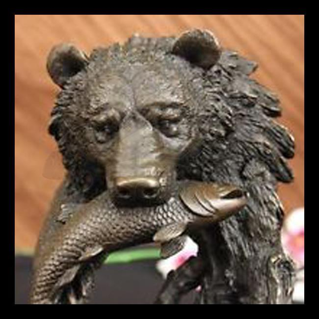 High quality outdoor bear statues