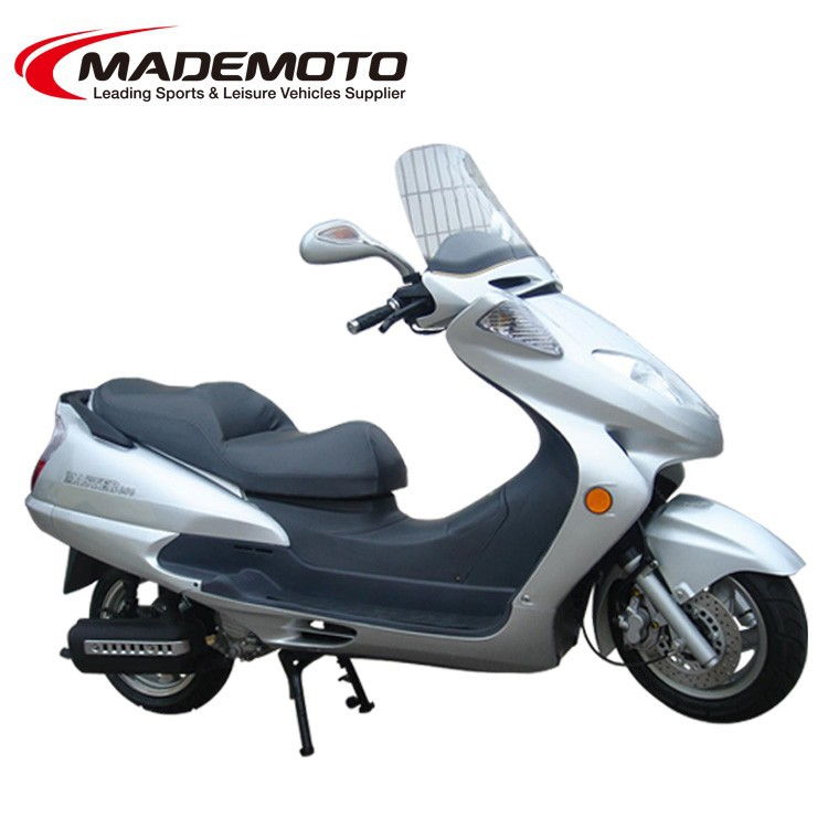 EEC Approved Gas Motor Scooter with High Quality