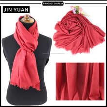 online china factory red big wool scarf