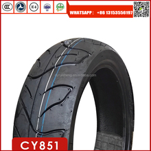 DONGYING RUISHENG FACTORY High quality motorcycle tyre 130/60-13 with high natural rubber rate